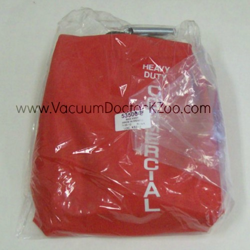 Sanitaire Outer Cloth Bag - Uses F & G Bags - Red - 53506-8