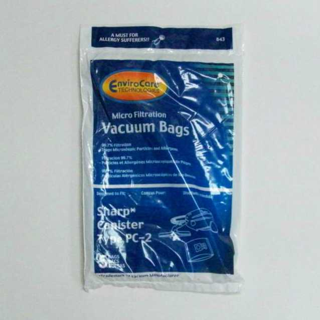 Sharp Bags PC2 5PK