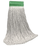 "16 OZ RAYON Blend CUT-END Wet Mop--5"" BAND"
