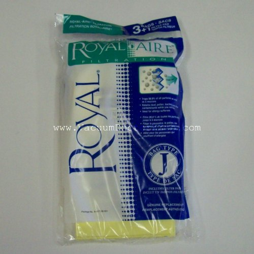 Royal Bag Type J RoyalAire - 3 pck + 1 fltr