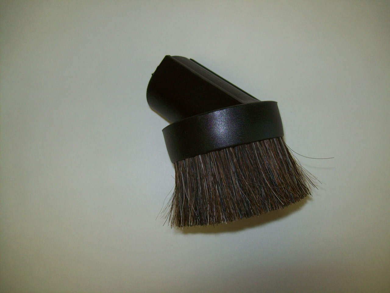 Dusting Brush, Heavy Horse Hair Bristles Black