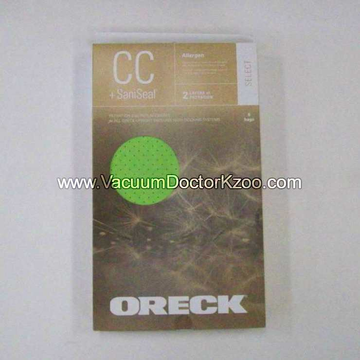 Oreck SELECT Filtration Vacuum Bag (6pk)