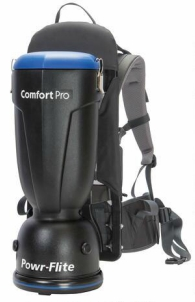 Premium Comfort Pro Backpack Vacuum - 6 Quart