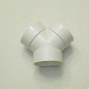 3-Way 45 Degree Coupling/Double Wye