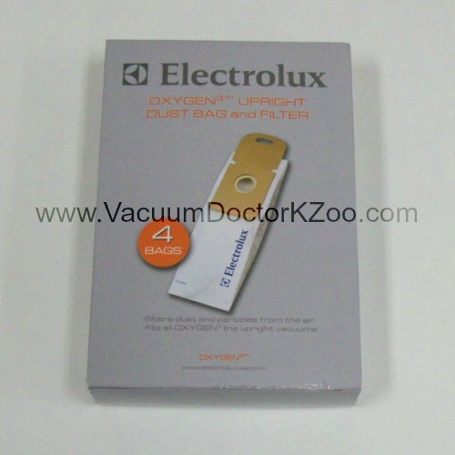 Electrolux Bags Oxygen3 4 bags and 1 filter